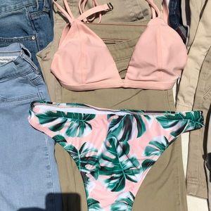 PAC Sun jeans& Hollister shorts